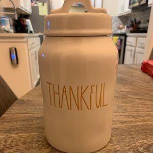 •Rae Dunn• THANKFUL canister